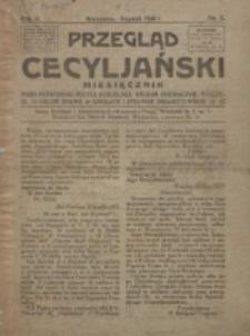 Przegląd Cecyljański. R. 2, nr 1 (1920)
