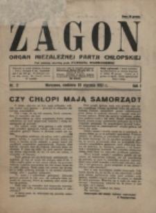 Zagon. R. 1, nr 2 (1927)