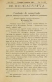 SS. Eucharistia. R. 7, nr 11/12 (1901)