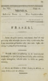 Momus. T. 2, nr 8 (1820)