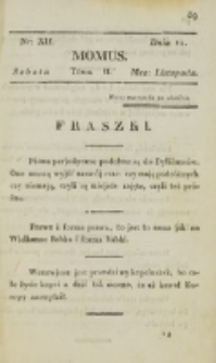 Momus. T. 2, nr 12 (1820)