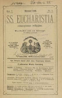 SS. Eucharistia. R. 5, nr 1 (1899)