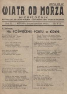 Wiatr od Morza. R. 2, nr 4/5 (1933)