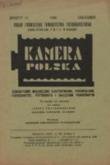 Kamera Polska. z. 12 (1932)