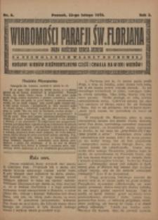 Wiadomości Parafji Św. Florjana przy Kościele Serca Jezusa za Zezwoleniem Władzy Duchownej Królowi Wieków Nieśmiertelnemu Cześć i Chwała na Wieki Wieków!. R. 2, nr 8 (1919)
