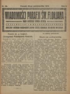 Wiadomości Parafji Św. Florjana przy Kościele Serca Jezusa za Zezwoleniem Władzy Duchownej Królowi Wieków Nieśmiertelnemu Cześć i Chwała na Wieki Wieków!. R. 2, nr 43 (1919)