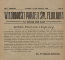 Wiadomości Parafji Świętego Florjana przy Kościele Serca Jezusa za Zezwoleniem Władzy Duchownej Królowi Wieków Nieśmiertelnemu Cześć i Chwała na Wieki Wieków!. R. 3, nr 3 (1920)