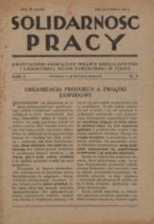Solidarność Pracy. R. 2, nr 8 (1927)
