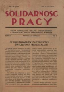 Solidarność Pracy. R. 2, nr 9 (1927)