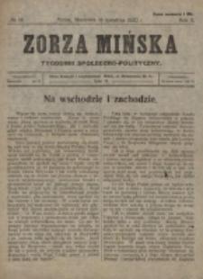 Zorza Mińska. R.2, nr 14 (1920)