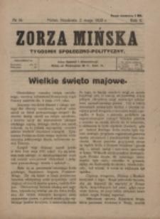 Zorza Mińska. R.2, nr 16 (1920).