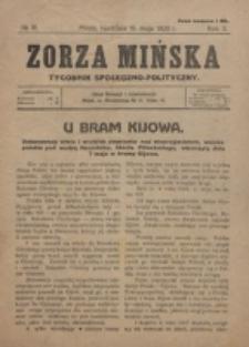 Zorza Mińska. R.2, nr 18 (1920)
