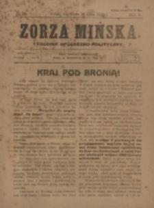 Zorza Mińska. R.2, nr 29 (1920)