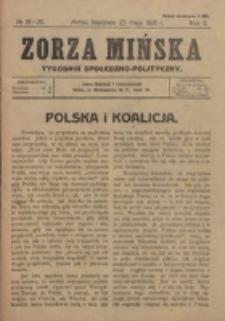 Zorza Mińska. R.2, nr 19/20 (1920)