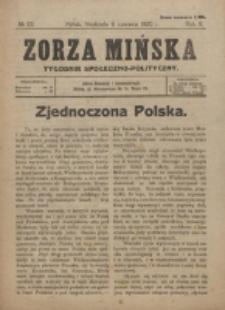 Zorza Mińska. R.2, nr 23 (1920)
