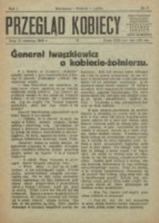 Przegląd Kobiecy. R. 1, nr 7 (1919)