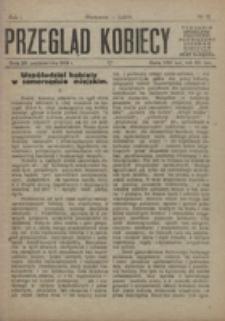 Przegląd Kobiecy. R. 1, nr 12 (1919)
