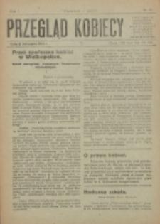 Przegląd Kobiecy. R. 1, nr 13 (1919)