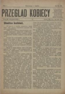 Przegląd Kobiecy. R. 1, nr 15/16 (1919)