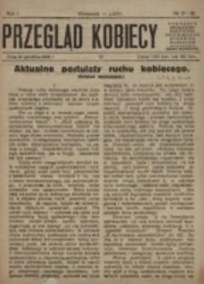 Przegląd Kobiecy. R. 1, nr 17/18 (1919)