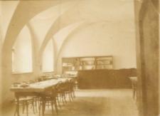 Czytelnia Biblioteki UL przy ul. Dolnej Panny Marii w Lublinie, wnętrze