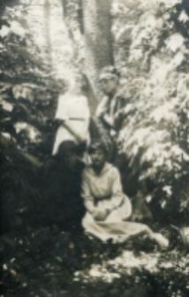 Cecylia Świderkówna, Zofia Ostrowska, Helena Jezierska, Jadwiga Rosińska, 1919 r.