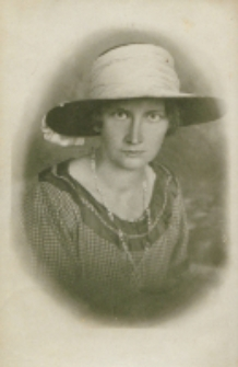 Zofia Ostrowska, 1923 r.