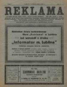 Reklama. R. 1, nr 2 (1921)