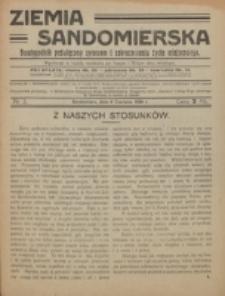 Ziemia Sandomierska. Nr 3 (1920)