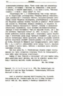 """Recenzja : Ryszard Rubinkiewicz SDB. Die Eschatologie vonHenoch 9-11-und das Neue Testament. """"Osterreische Bibllsche Studlen"""" 6: 1984 ss. 175."""