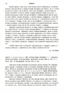 Recenzja : Hugolin Langkammer OFM. Teologia Nowego Testamentu. T. 1: Ewangelie,Dzieje Apostolskie, Listy Katolickie, Apokalipsa. Wrocław 1985 ss. 291.T. 2: Paweł, List do Hebrajczyków. Wrocław 1984, ss. 301.