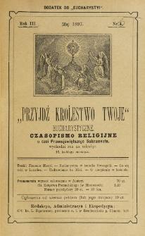 Przyjdź Królestwo Twoje Eucharystyczne. R. 3, nr 5 (1897)