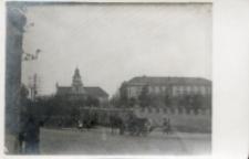 Pierwsza siedziba UL, ul. Zamojska, 1919 r.