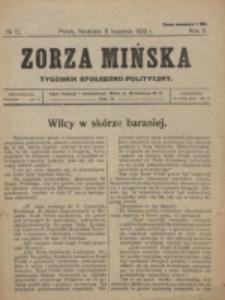 Zorza Mińska. R.2, nr 13 (1920)