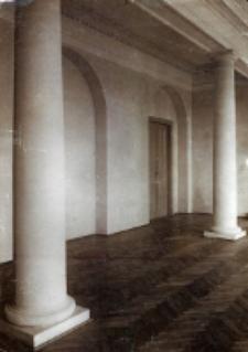 Uniwersytet Lubelski. Sala Senacka, fot. inż. J. Siennicki, 1923 r.