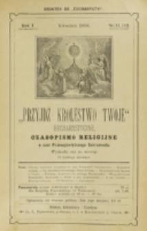 Przyjdź Królestwo Twoje Eucharystyczne. R. 1, nr 11/12 (1896)