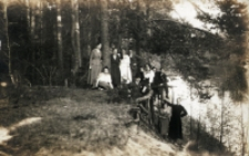 Wycieczka z UL do Spały, 1923 r.