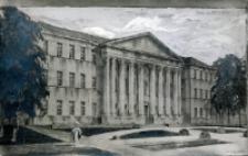 Projekt frontonu Uniwersytetu Lubelskiego