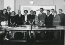 Akademia poświęcona prof. Pigoniowi, maj 1969: pamiątkowa fotografia