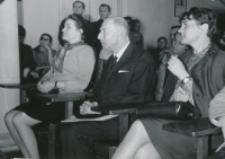 Prof. Mieczysław Wallis na KULu, wiosna 1970 : (w środku)