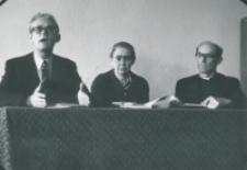 Prof. R. Matthes - socjolog religii z Bielefield (NRF), 9.X.1971