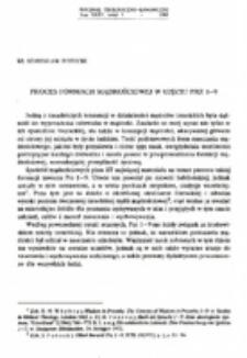 Proces formacji mądrościowej w ujęciu Prz 1-9.