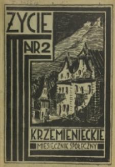 Życie Krzemienieckie. R. 2, nr 2 (1933)