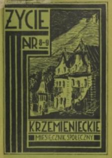 Życie Krzemienieckie. R. 5, nr 8/9 (1936)
