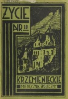 Życie Krzemienieckie. R. 5, nr 10 (1936)