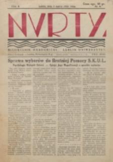 Nurty : organ studentów KUL. R. 2, nr 6 (1933)