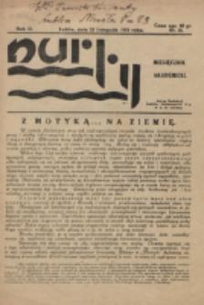 Nurty : organ studentów KUL. R. 2, nr 10 (1933)
