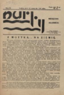 Nurty : organ studentów KUL. R. 2, nr 11 (1933)