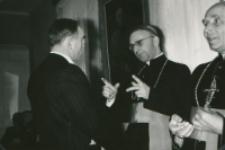 Z pobytu J. E. ks. Stefana kardynała Wyszyńskiego - Prymasa Polski na KUL-u - 15.V.1964 r. : rozmowy...