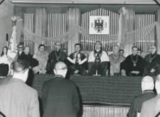 Inauguracja roku akademickiego 1971/72, 24.X : Senat Akademicki KUL